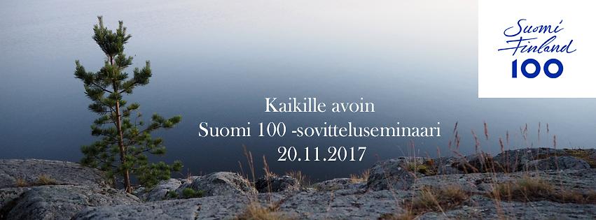 Suomi 100 -sovitteluseminaari